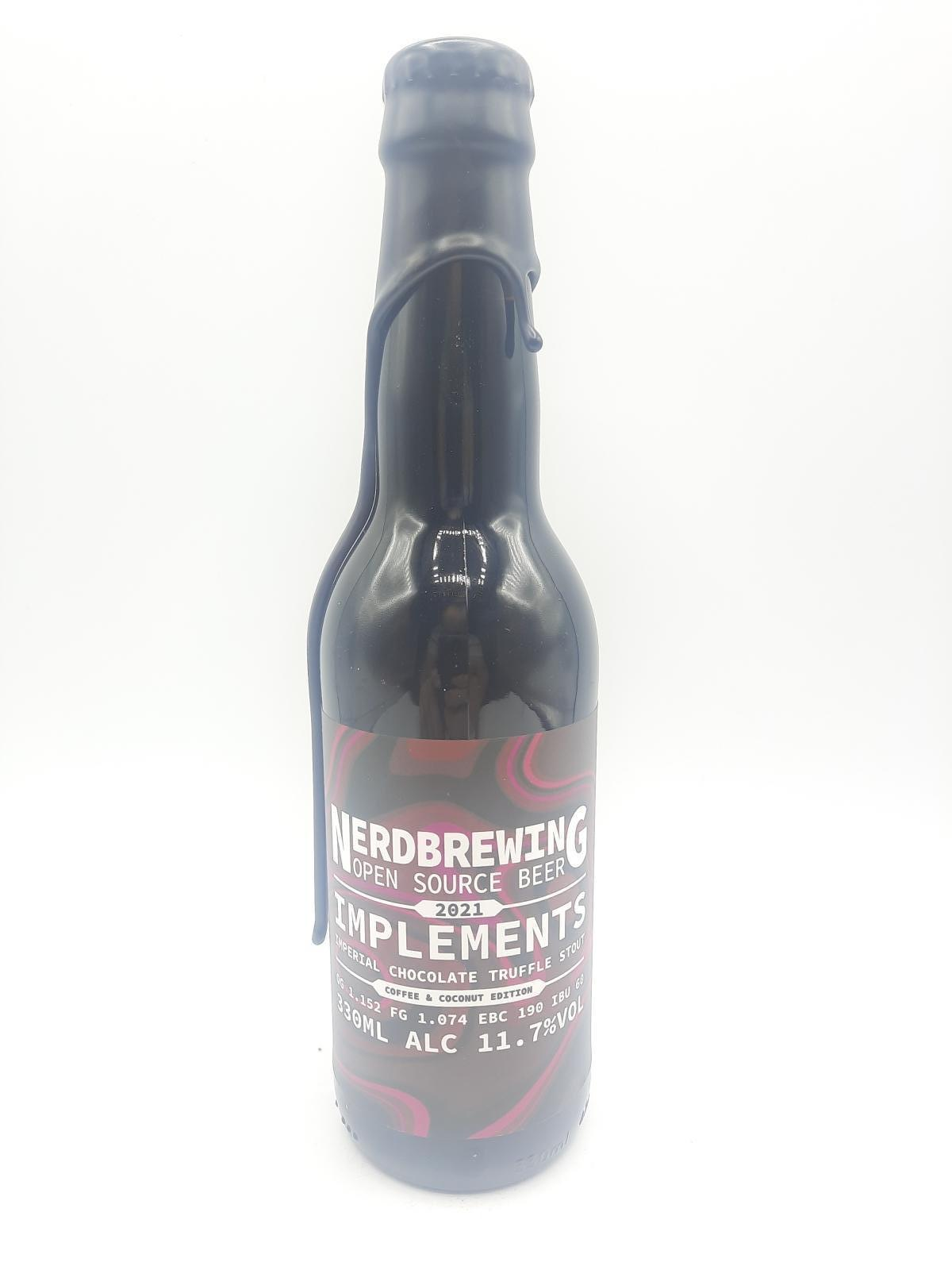 Img Implements Imperial chocolate truffle stout